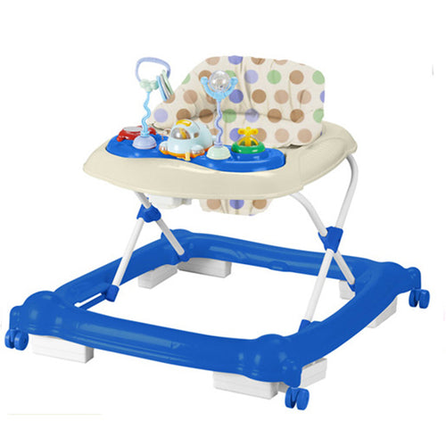 Aussie Baby Walker Activity Centre Blue Pink with Toys