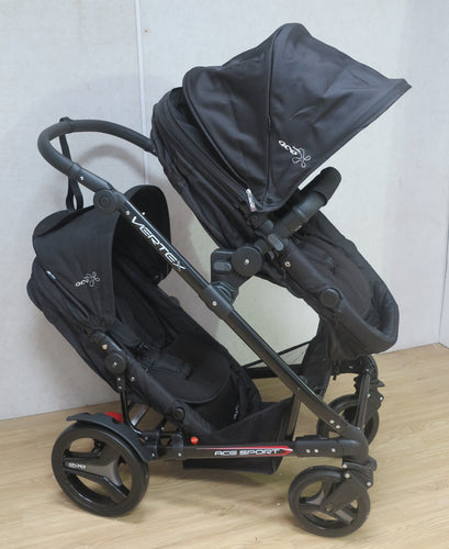 Safety Vertex Pram With second seat /Tandem Seat