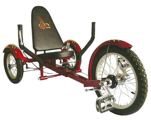 Aussie Baby Recumbent Tricycle 16""