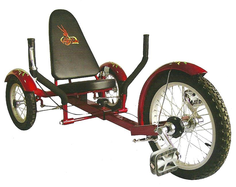 Aussie Baby Recumbent Tricycle 16