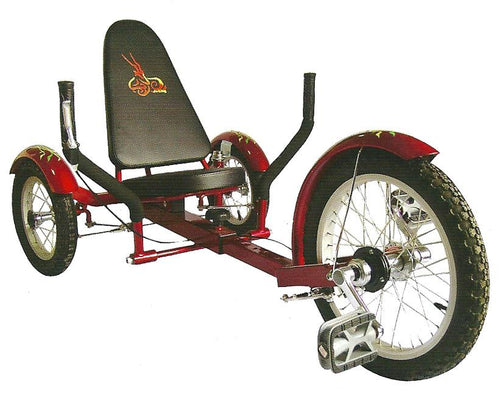 Aussie  Recumbent Tricycle 16
