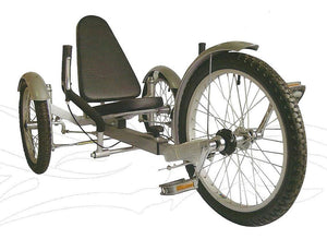 Aussie Baby Recumbent Tricycle 20""