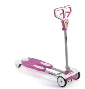 AUSSIE BABY H03 Butterfly Scooter - Pink
