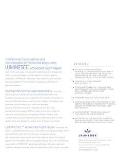 JEUNESSE LUMINESCE™ advanced night repair