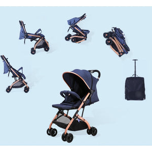 Aussie Baby Smart Travel Pram Stroller