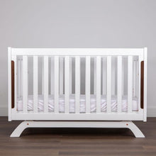 Load image into Gallery viewer, Grotime   Retro Cot cot with Mattress  and Change Table with Pad