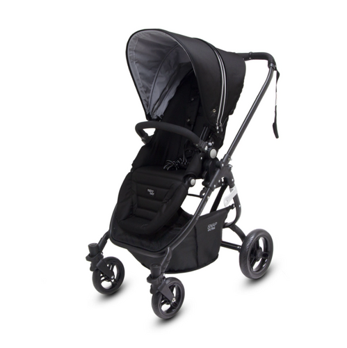 Valco Baby  Snap Ultra Belt Decline Pram Midnight Black