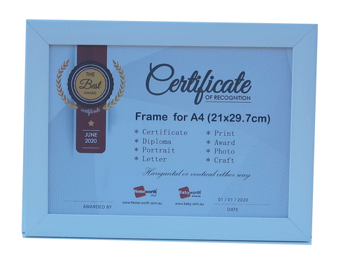 Picture Frame For Photo / Picture / Certificate  Size A4 ( 21x29.7 cm )