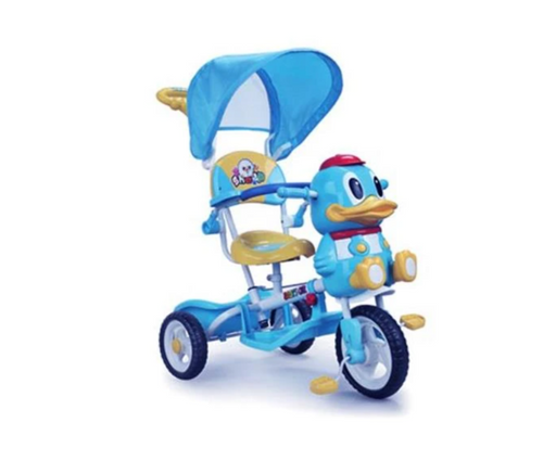 Aussie Baby A27-3 Duck Tricycle - Blue - Pink