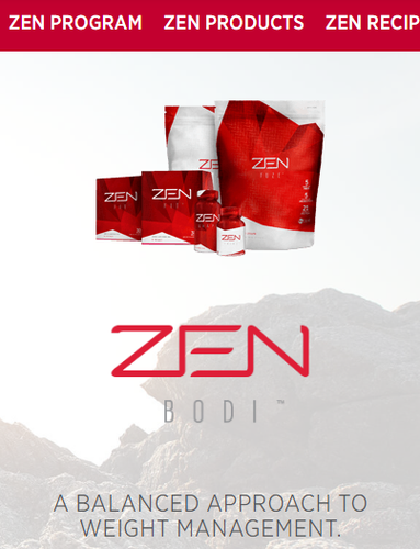 JEUNESSE ZEN BODI package - a balanced approach to weight management