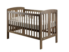 Load image into Gallery viewer, Grotime   Pearl 4-in-1 cot  Baby Bed with Mattress and Bella Change Table Mountain Ash