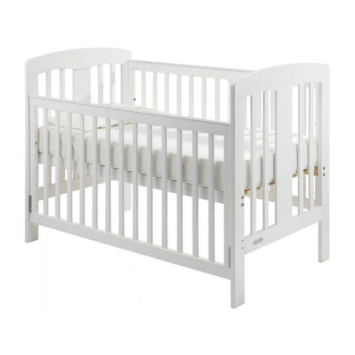 Grotime   Pearl 4-in-1 cot  Baby Bed with Mattress White