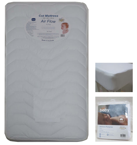 Babyworth Cot  Mattress Airflow