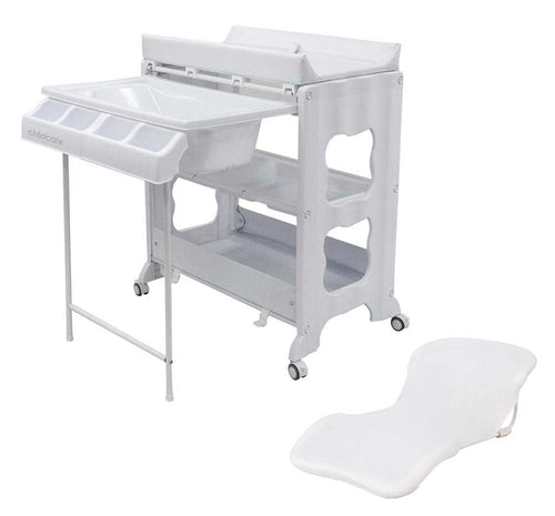 CHILDCARE MONTANA DL CHANGE CENTRE WITH BATH TOP AND CHANGE PAD