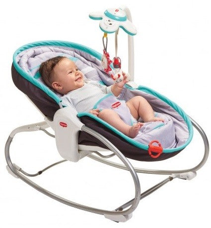 Tiny Love ROCKER NAPPER ‐ TURQUOISE/GREY