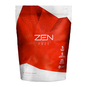 JEUNESSE 2PCS of JEUNESSE ZEN Fuze chocolate dream( For weight management)