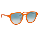 Dries Van Noten 184 C4 Oval Sunglasses