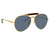 Dries Van Noten 187 C1 Aviator Sunglasses