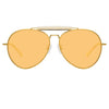 Dries Van Noten 187 C4 Aviator Sunglasses