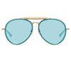 Dries Van Noten 188 C4 Aviator Sunglasses