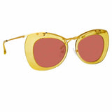 Dries Van Noten 193 C3 Cat Eye Sunglasses