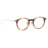Linda Farrow Linear Chevron A C3 Oval Optical Frame