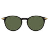 Linda Farrow Linear Chevron C6 Oval Sunglasses