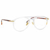 Linda Farrow Linear 23 C4 Aviator Optical Frame