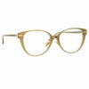 Linda Farrow Linear Arch C5 Cat Eye Optical Frame