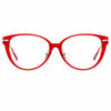 Linda Farrow Linear Arch A C6 Cat Eye Optical Frame
