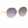 Linda Farrow Aerial C3 Oversized Sunglasses
