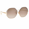 Linda Farrow Aerial C4 Oversized Sunglasses