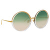 Linda Farrow Kew C35 Oversized Sunglasses