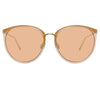 Linda Farrow Kings C21 Oversized Sunglasses