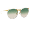 Linda Farrow Kings C22 Oversized Sunglasses