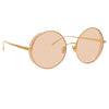 Linda Farrow Lockhart C6 Round Sunglasses