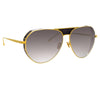 Linda Farrow Matheson C1 Aviator Sunglasses