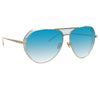 Linda Farrow Matheson C7 Aviator Sunglasses