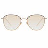 Linda Farrow Raif C21 Square Sunglasses