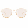 Linda Farrow Raif C22 Square Sunglasses