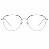 Linda Farrow Raif C25 Square Optical Frame