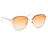 Linda Farrow Raif C7 Square Sunglasses