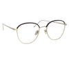 Linda Farrow Raif C9 Square Optical Frame