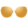 Linda Farrow Kennedy C1 Oversized Sunglasses
