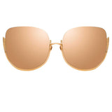 Linda Farrow Kennedy C3 Oversized Sunglasses
