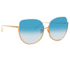 Linda Farrow Kennedy C5 Oversized Sunglasses
