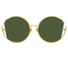 Linda Farrow Quarry C4 Round Sunglasses