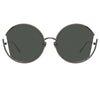 Linda Farrow Quarry C7 Round Sunglasses