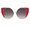 Linda Farrow Austin C5 Cat Eye Sunglasses