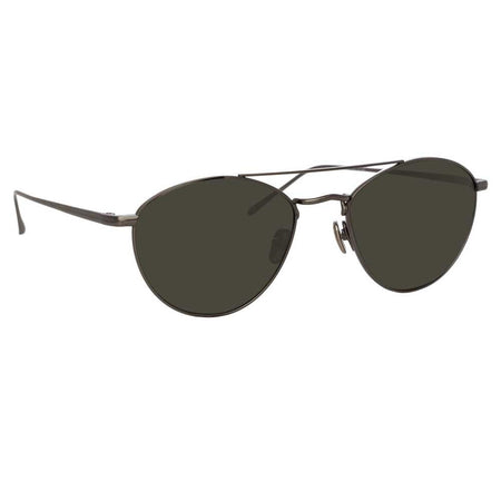 f572153414a7 Linda Farrow 876 C6 Aviator Sunglasses